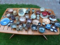 wood fired pottery - July 2014
